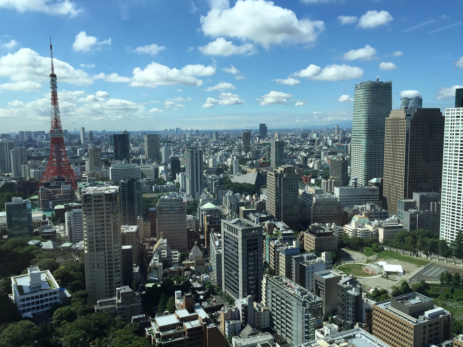 東京の景色オフィス街